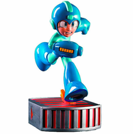 First 4 Figures Mega Man Running Statue