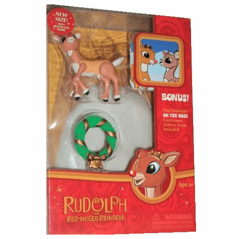 Forever Fun Rudolph the Red-Nosed Reindeer Rudolph Figure