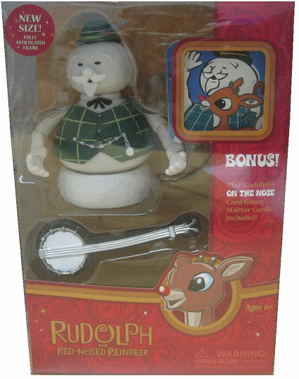 Forever Fun Rudolph the Red-Nosed Reindeer Snowman Figure