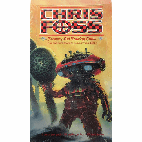 FPG Chris Foss Fantasy Art Trading Cards Sealed Box