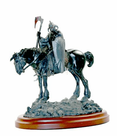 Frank Frazetta's Death Dealer Mini Statue