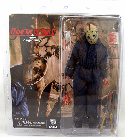 Friday the 13th Part 5 Retro Cloth Jason Figure