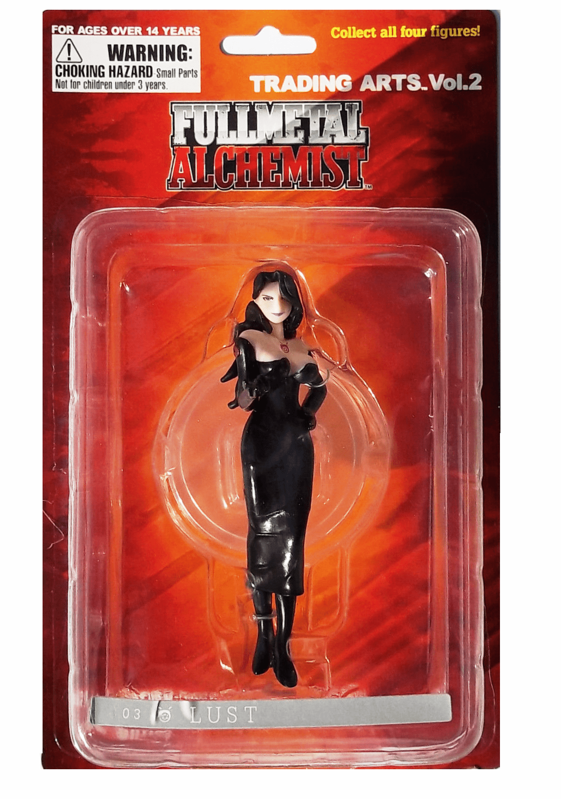 Fullmetal Alchemist Trading Arts Vol. 2 Mini Lust Figure