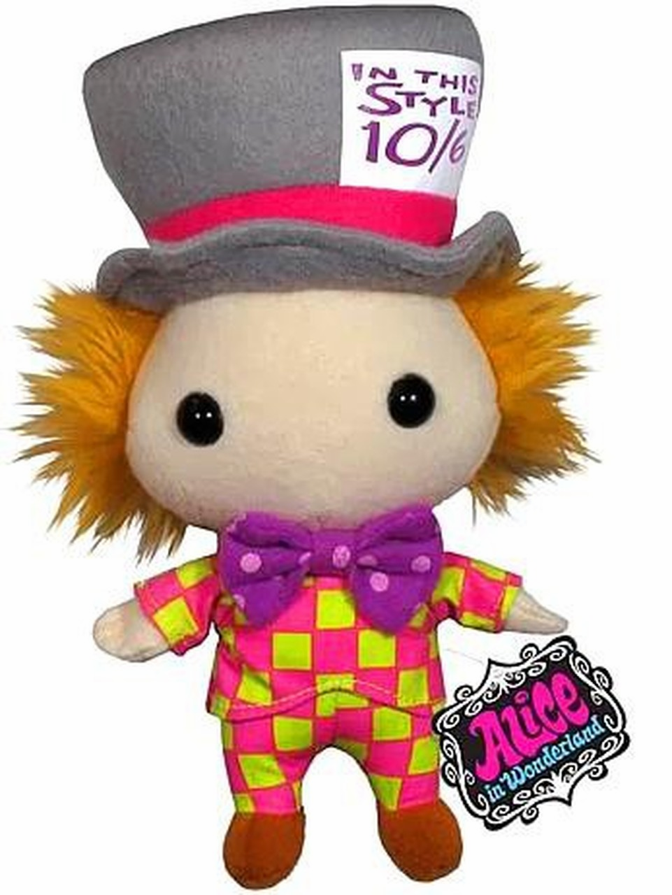 Funko Alice in Wonderland Mad Hatter Plush Doll