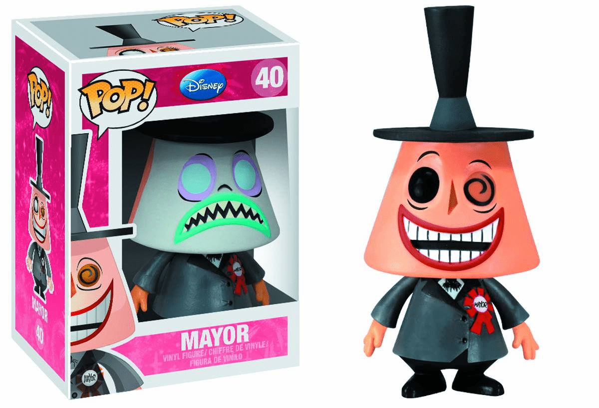 Funko Disney Pop Heroes Vinyl 40 Nightmare Before Christmas Mayor Figure