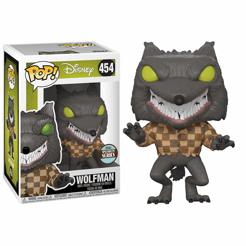 Funko Disney Pop Vinyl 454 Wolfman Figure