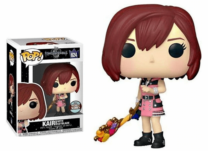 Funko Disney Pop Vinyl 624 Kingdom Hearts Kairi with Keyblade Figure