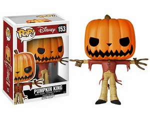 Funko Disney Pop Vinyl Nightmare Before Christmas Pumpkin King Figure