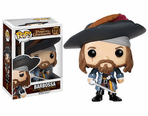 Funko Disney Pop Vinyl Pirates of the Caribbean Barbossa Figure
