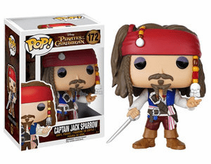 Funko Disney Pop Vinyl Pirates of the Caribbean Captain Jack Sparrow Figure