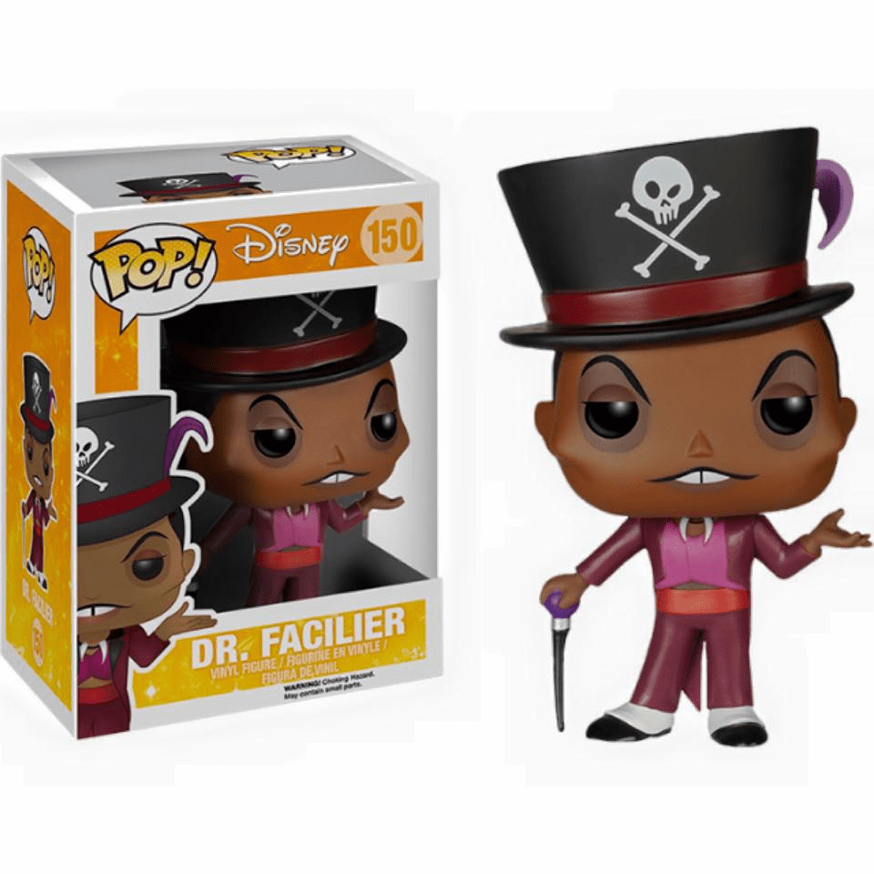 Funko Disney Pop Vinyl The Princess and the Frog Dr. Facilier Figure