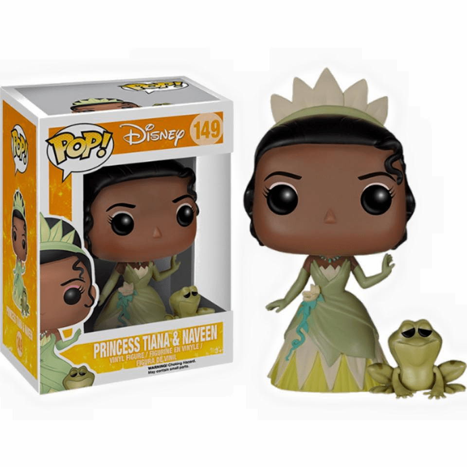 Funko Disney Pop Vinyl The Princess and the Frog Tiana & Naveen Figure