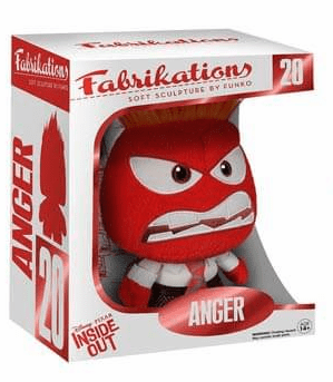 Funko Fabrikations Inside Out Anger Plush