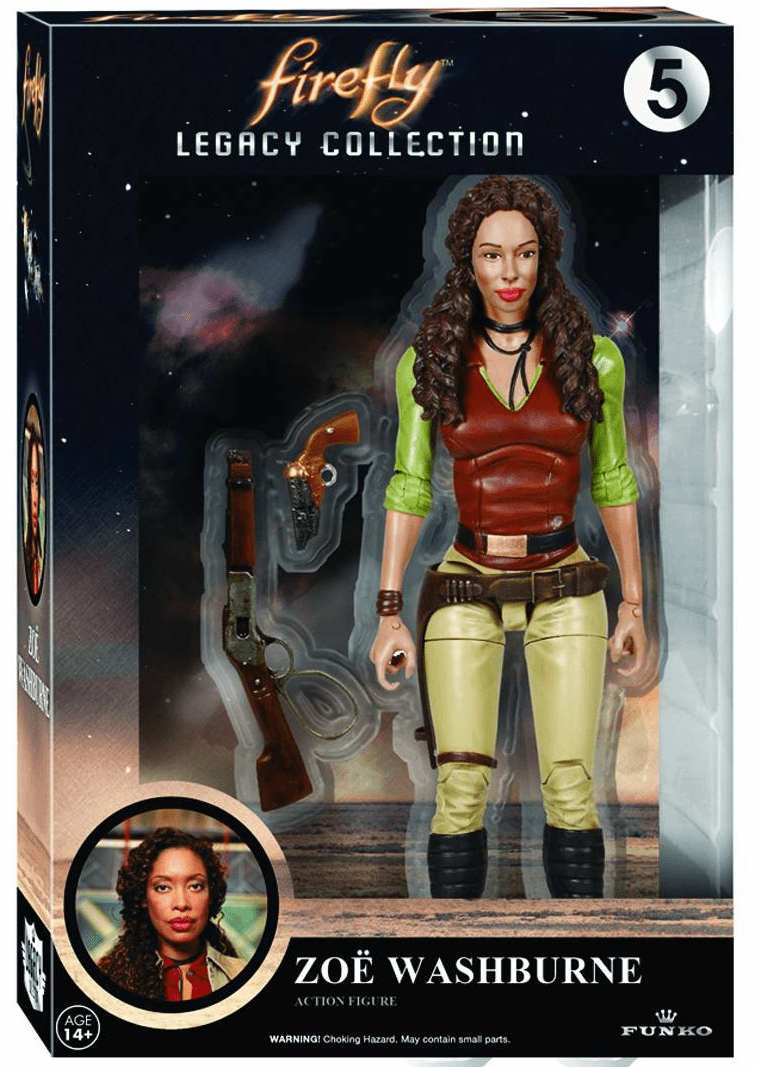 Funko Firefly Legacy Collection Zoe Washburne Figure