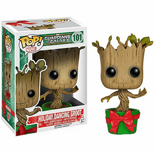 Funko Pop Vinyl Guardians of the Galaxy Holiday Dancing Groot Figure
