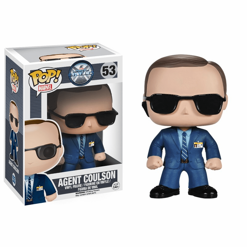 Funko Marvel Pop Heroes Vinyl 53 Agents of SHIELD Agent Coulson