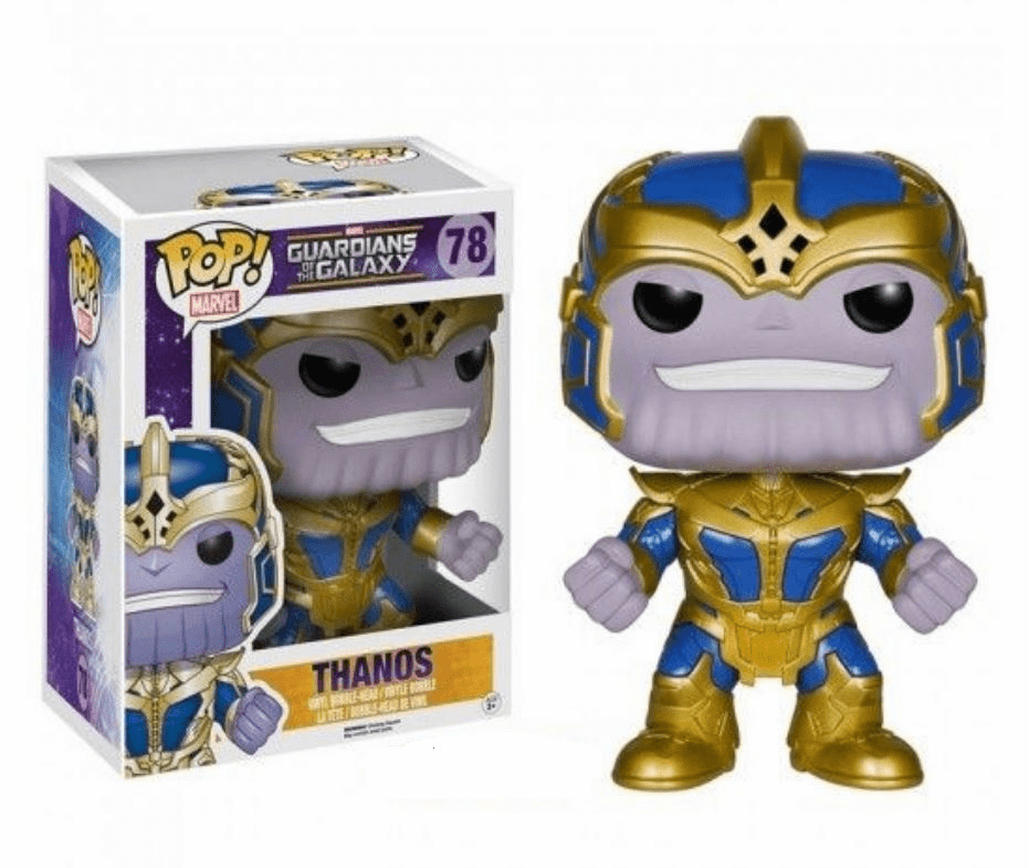 Funko Marvel Pop Heroes Vinyl 78 Guardians of the Galaxy Thanos Figure