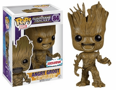 Funko Marvel Pop Vinyl 84 Guardians of the Galaxy Angry Groot Figure