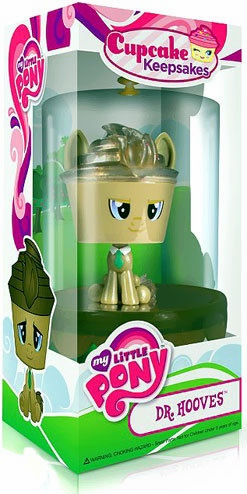 Funko My Little Pony Dr. Whooves Cupcake Keepsake