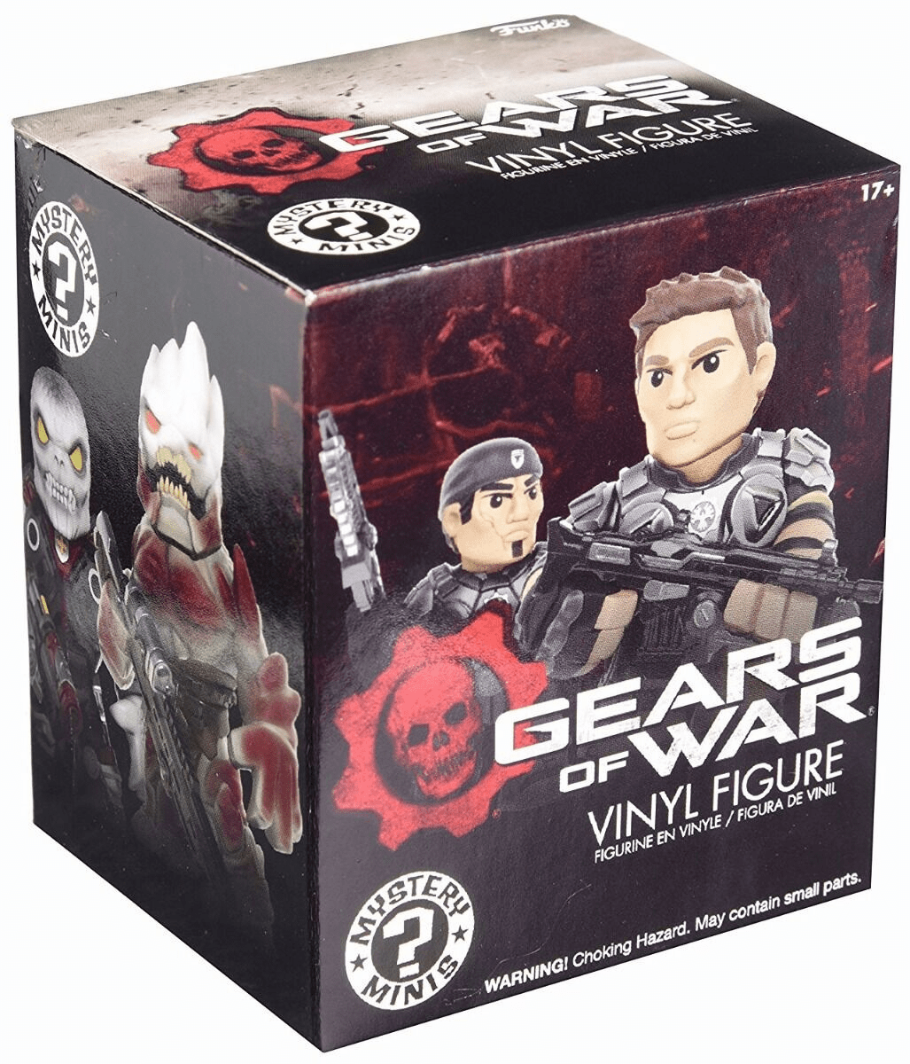 Funko Mystery Minis Gears Of War Figure Pack