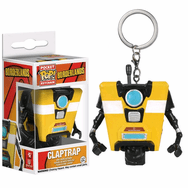 Funko Pocket POP! Borderlands Claptrap Keychain
