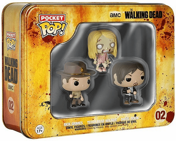 Funko Pocket POP TV The Walking Dead Mini Figures