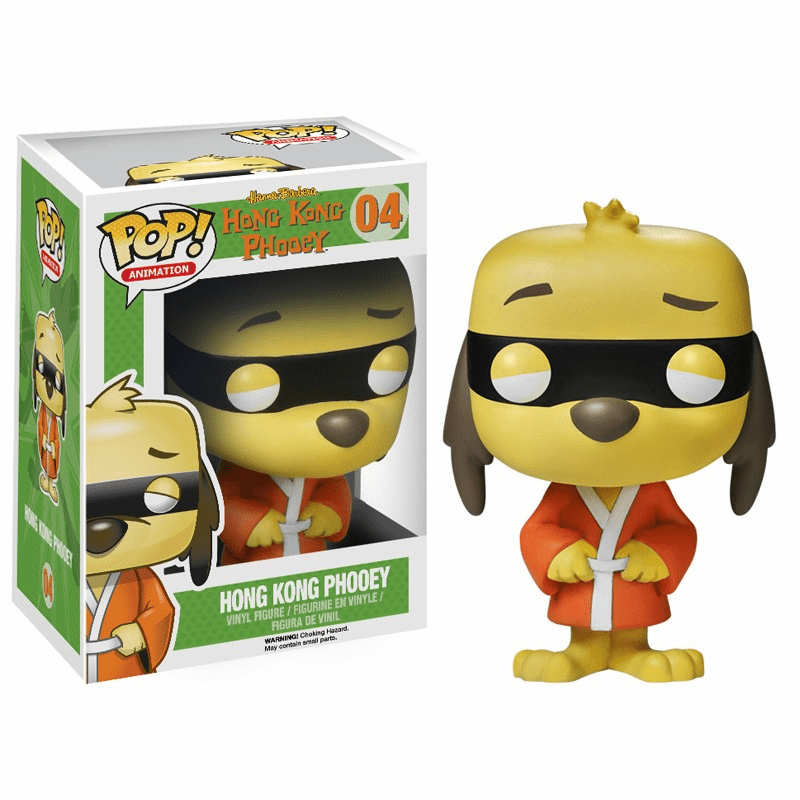 Funko Pop Animation Vinyl 04 Hanna-Barbera Hong Kong Phooey Figure