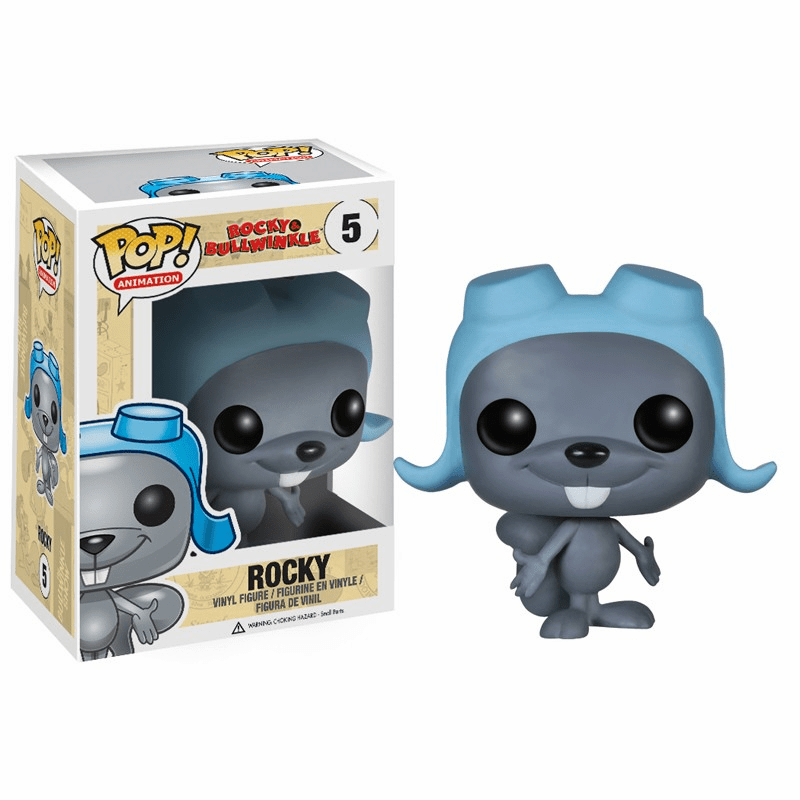 Funko Pop Animation Vinyl 05 Rocky and Bullwinkle Rocky Figure