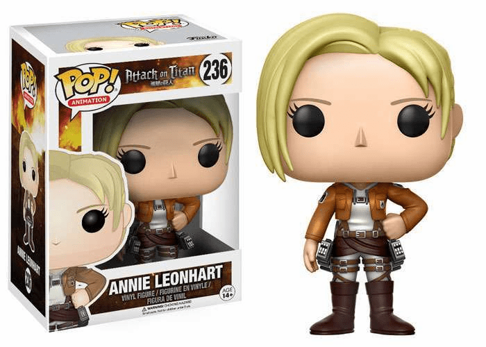 Funko Pop Animation Vinyl Attack on Titan Annie Leonhart Figure