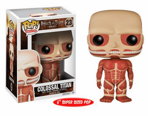 Funko Pop Animation Vinyl Attack on Titan Colossal Titan Figure