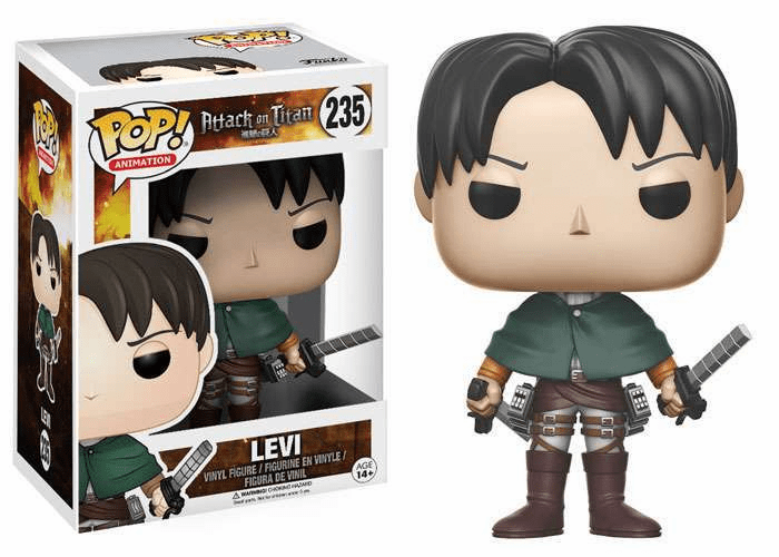 Funko Pop Animation Vinyl Attack on Titan Levi Figure