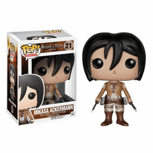 Funko Pop Animation Vinyl Attack on Titan Mikasa Ackerman Figure
