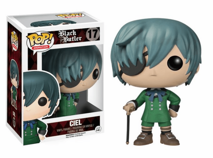 Funko Pop Animation Vinyl Black Butler Ciel Figure