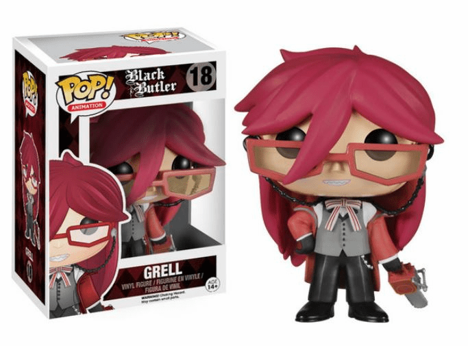 Funko Pop Animation Vinyl Black Butler Grell Figure