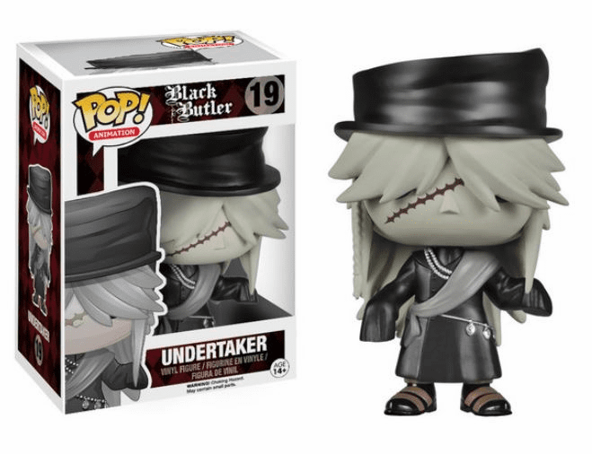 Funko Pop Animation Vinyl Black Butler Undertaker Figure