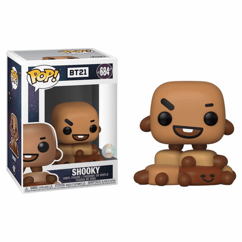 Funko Pop Animation Vinyl BT21 Shooky Figure
