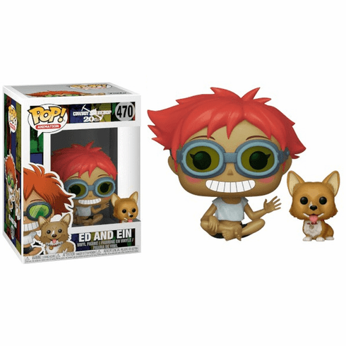 Funko Pop Animation Vinyl Cowboy Bebop Ed and Ein Figure