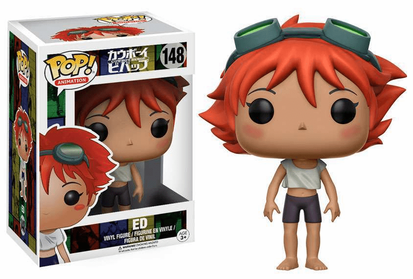 Funko Pop Animation Vinyl Cowboy Bebop Ed Figure