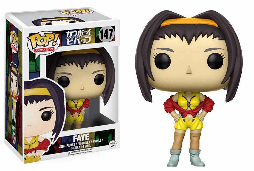 Funko Pop Animation Vinyl Cowboy Bebop Faye Figure