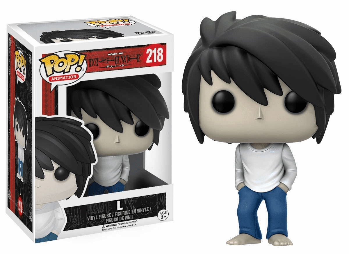 Funko Pop Animation Vinyl Death Note L Figure