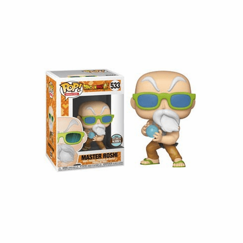 Funko Pop Animation Vinyl Dragonball Z Master Roshi Figure