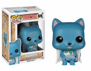 Funko Pop Animation Vinyl Fairy Tail Happy Figure