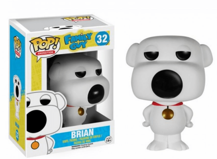 Funko Pop Animation Vinyl Family Guy Brian Griffin Figure