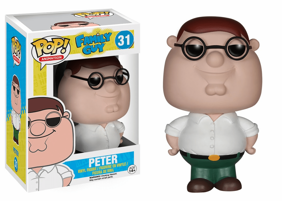Funko Pop Animation Vinyl Family Guy Peter Griffin Figure