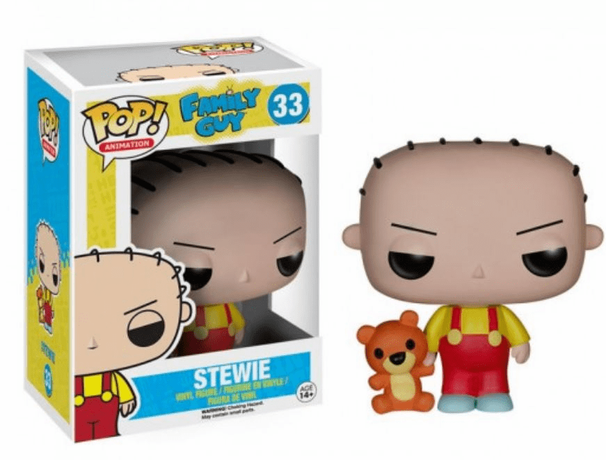 Funko Pop Animation Vinyl Family Guy Stewie Griffin Figure