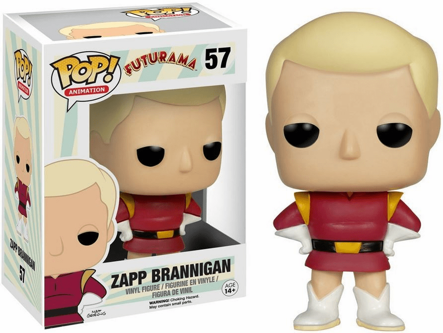 Funko Pop Animation Vinyl Futurama Zapp Brannigan Figure