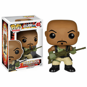 Funko Pop Animation Vinyl GI Joe Roadblock Figure