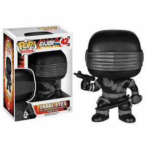 Funko Pop Animation Vinyl GI Joe Snake Eyes Figure