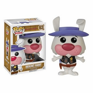 Funko Pop Animation Vinyl Hanna-Barbera Ricochet Rabbit Figure