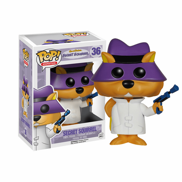 Funko Pop Animation Vinyl Hanna-Barbera Secret Squirrel Figure